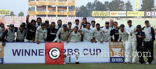 India Team Celebrates 2