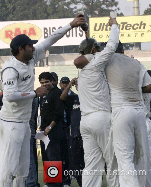 Day five of the second India versus England...