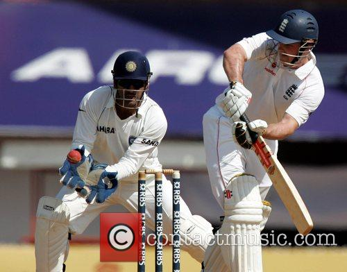 Andrew Strauss Day 4 of the India v...