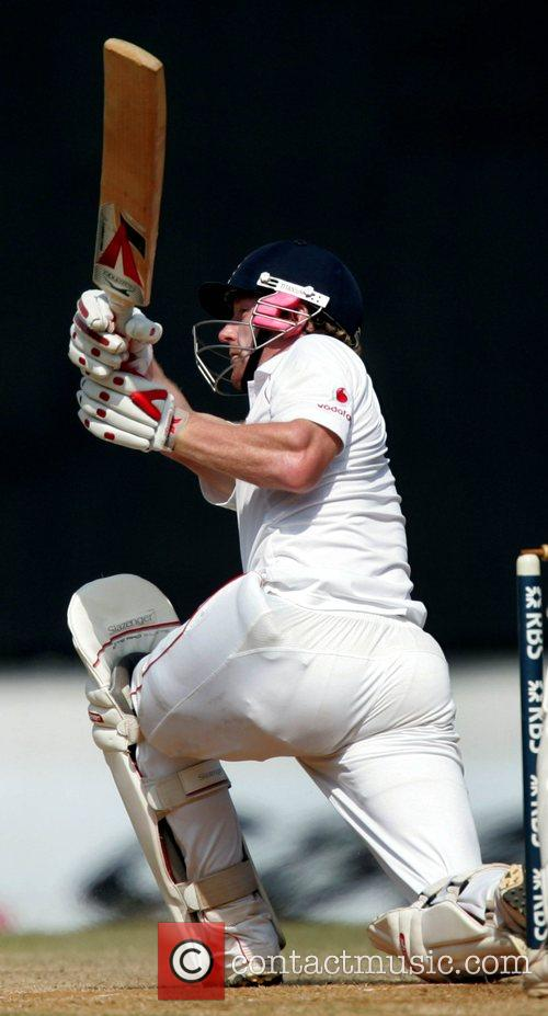 Paul Collingwood Day 4 of the India v...