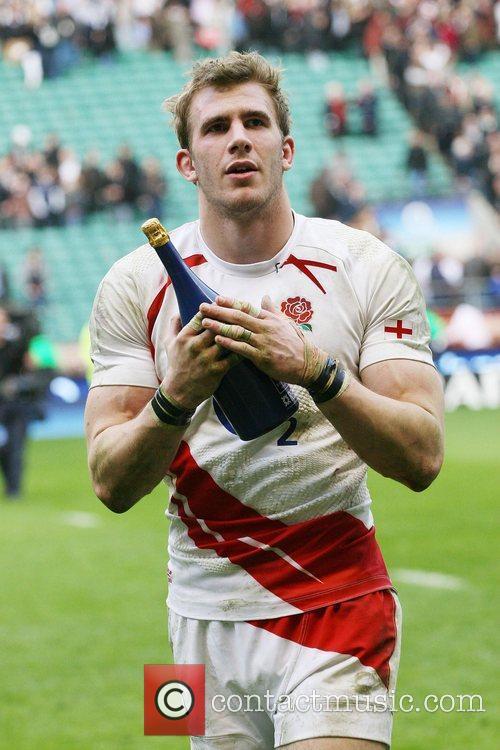 Tom Croft England v France Six Nations Rugby...