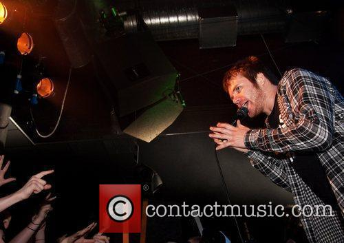 Enter Shikari performing at Liverpool Barfly as part...