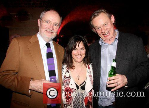 Jim Broadbent, Lisa Mayer and Martin Clunes 1