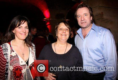 Lise Mayer, Cathy Burke and Neil Pearson attend...