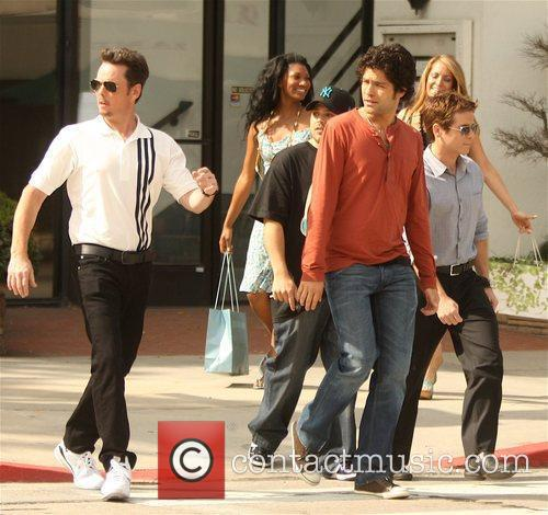 Adrian Grenier, Kevin Dillon, Kevin Connolly and Jerry...