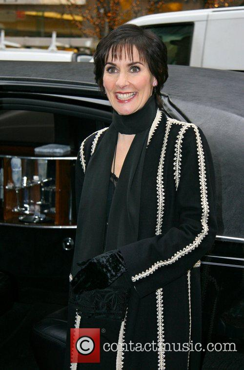 Enya leaving the ABC studio after appearing on...