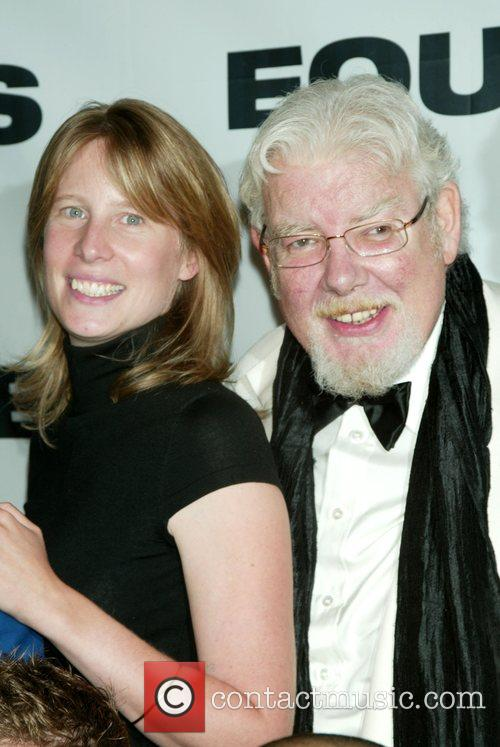 Thea Sharrock, Richard Griffiths at the opening night...