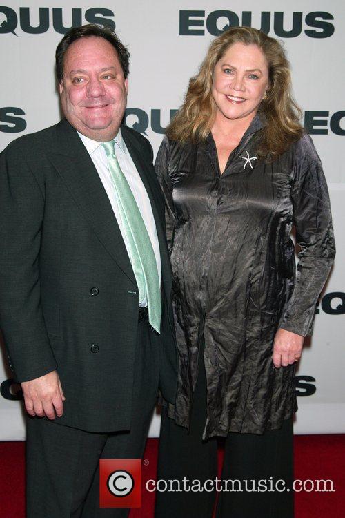 Jimmy Nederlander and Kathleen Turner Opening Night of...
