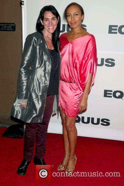 Leigh Silverman and Eisa Davis Opening Night of...