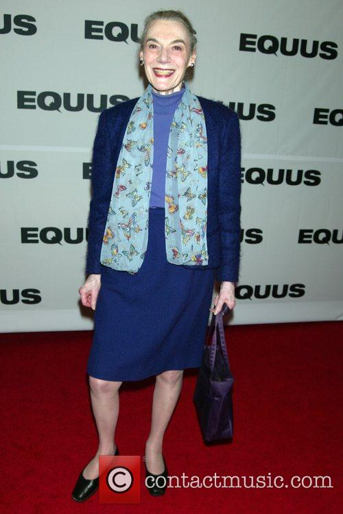 Marian Seldes Opening Night of the Broadway revival...