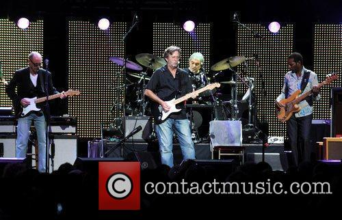 Andy Fairweather Low and Eric Clapton 1