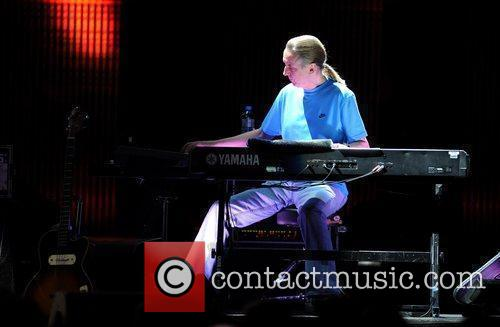 Chris Stainton performs at The Royal Albert Hall...