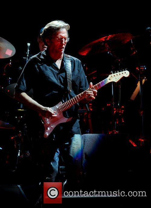 Eric Clapton performs at The Royal Albert Hall...