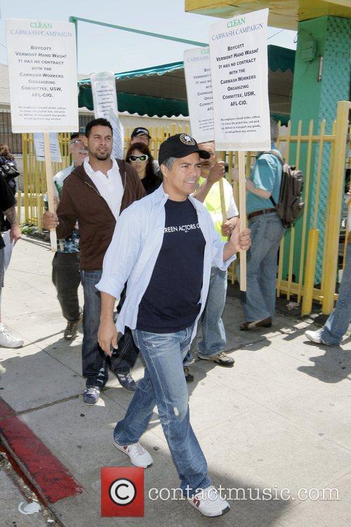 Actor and SAG National Board Member Esai Morales...