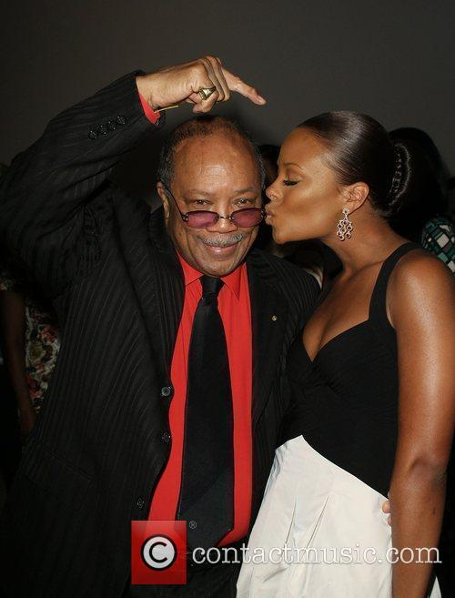 Eva Marcille and Quincy Jones 2