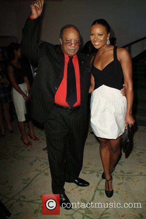 Eva Marcille and Quincy Jones 1