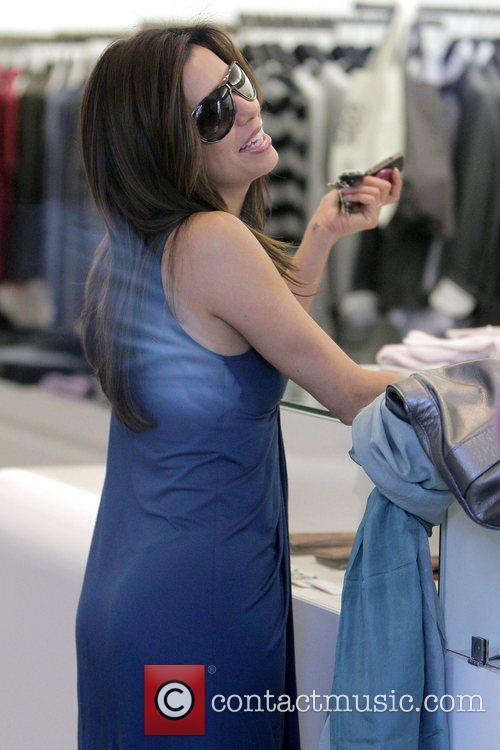 Eva Longoria Parker shops at Zadig & Voltaire...