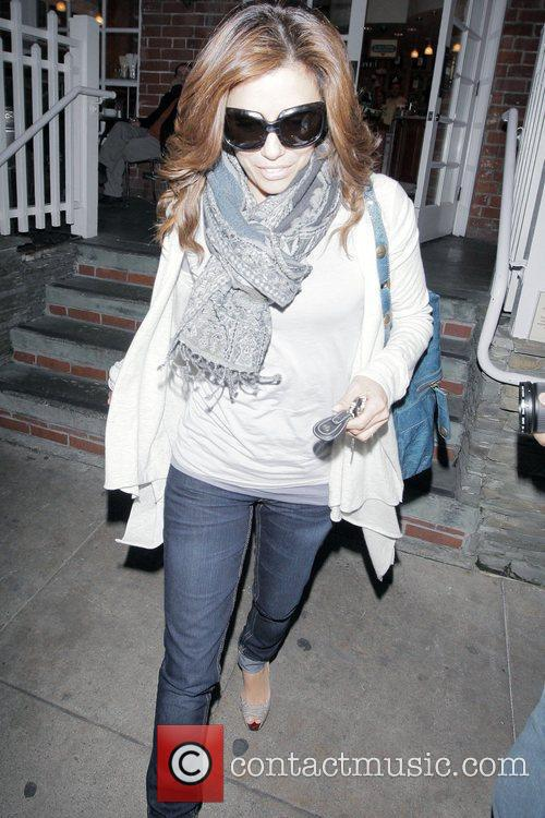 Eva Longoria Parker leaving Urth Caffe in Beverly...