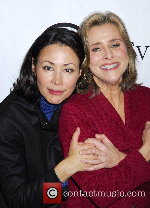 Ann Curry and Meredith Viera  Grand opening...