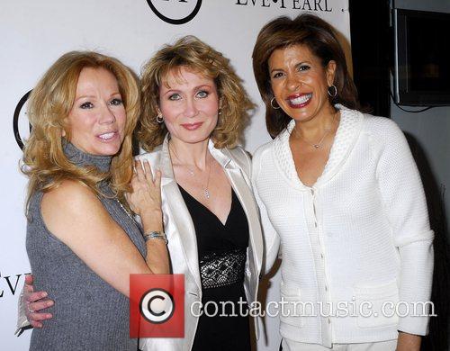 Kathie Lee Gifford, Eve Pearl, and Hoda Kotb...