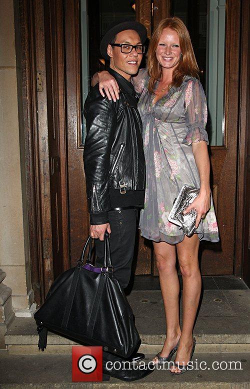 Gok Wan and Olivia Inge Evening Standard's 1000...