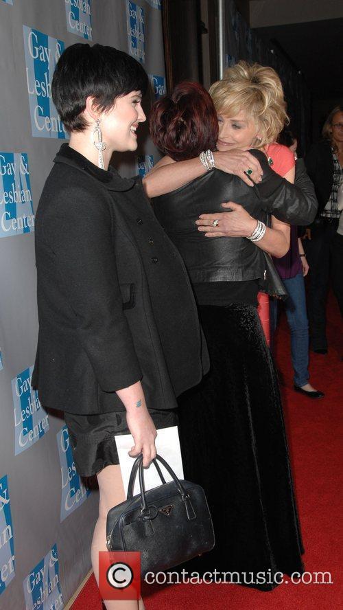 Kelly Osbourne, , Sharon Osbourne, Sharon Stone L.A....