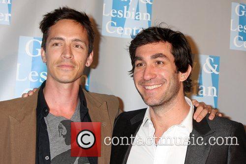 Brandon Boyd (Incubus) & Brent Bolthouse L.A. Gay...