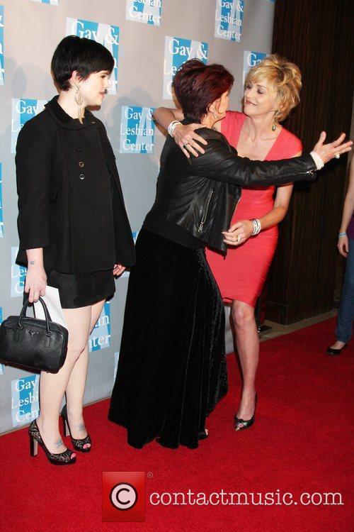 Kelly & Sharon Osbourne, Sharon Stone L.A. Gay...