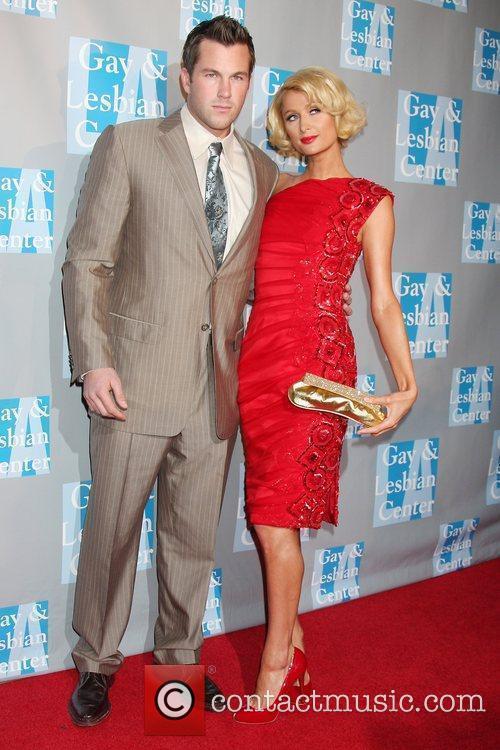 Paris Hilton and Doug Reinhardt L.A. Gay &...