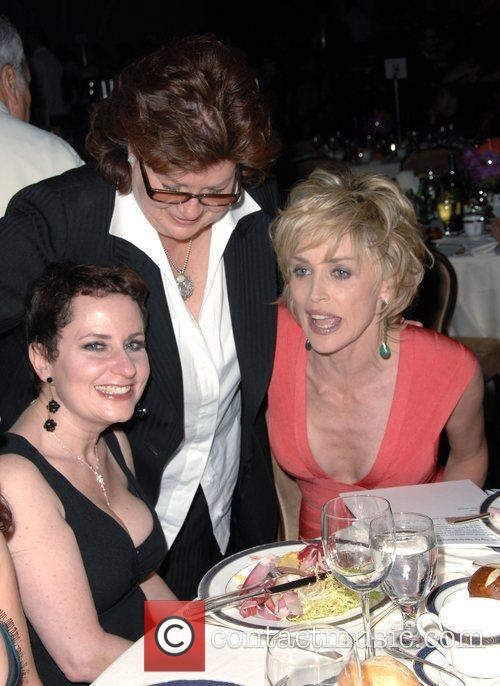Guests, Sharon Stone L.A. Gay & Lesbian Center...
