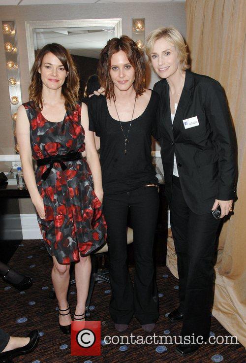 Leisha Hailey, Katherine Moennig, Jane Lynch L.A. Gay...