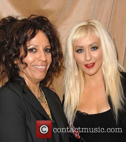 Linda Perry and Christina Aguilera 1