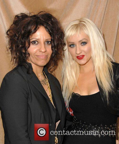 Linda Perry and Christina Aguilera 4