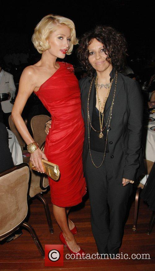 Paris Hilton and Linda Perry 3
