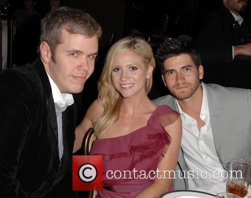 Perez Hilton, Brittany Snow, Ryan Rottman L.A. Gay...