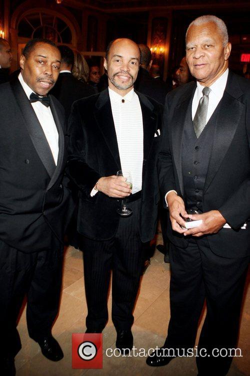 Fred L. Price, Jeff Burns and Judge Bernard...