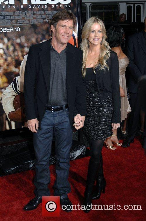 Dennis Quaid and Kimberly Buffington The Los Angeles...