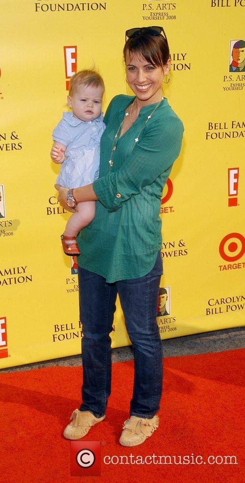Constance Zimmer and daughter P.S Arts 'Express Yourself...