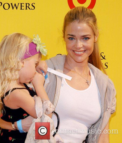 Denise Richards and family P.S Arts 'Express Yourself...