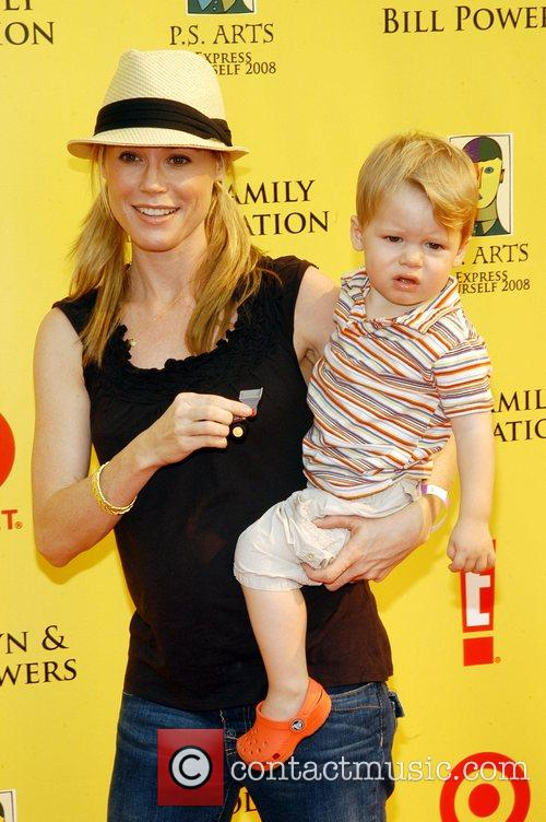 Julie Bowen and son P.S Arts 'Express Yourself...