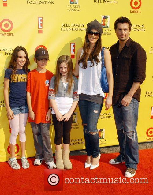 Kate Beckinsale, Len Wiseman and Family P.S Arts...
