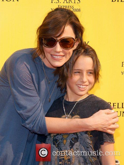 Krista Allen and Son