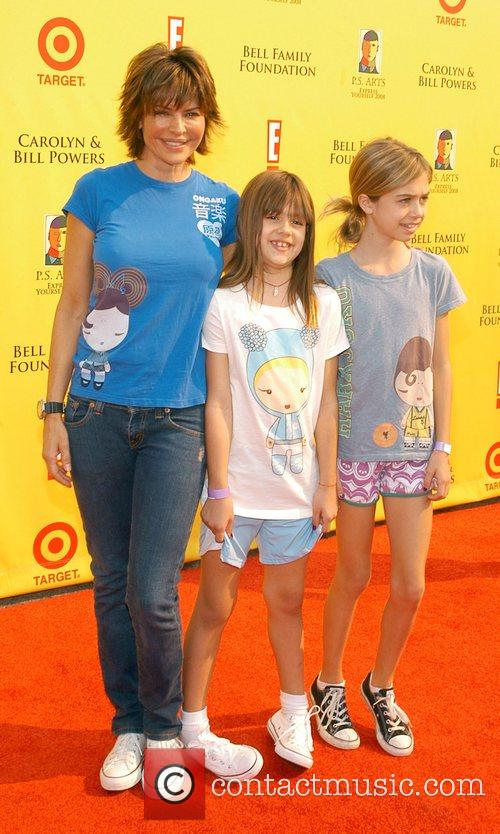 Lisa Rinna and family P.S Arts 'Express Yourself...