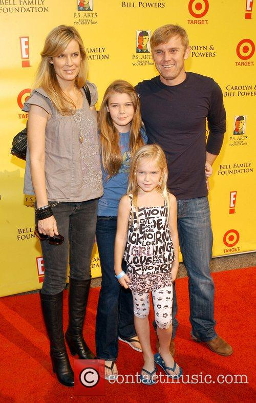 Rick Schroeder and family P.S Arts 'Express Yourself...