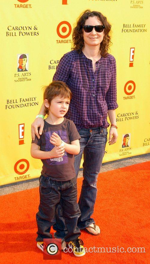 Sara Gilbert and son P.S Arts 'Express Yourself...