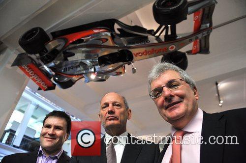 Sion Simon MP, Ron Dennis, Prof. Chris Rapley...