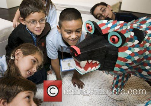 Miami students with Arts for Learning react to...