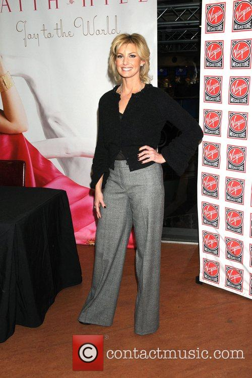 Faith Hill  attends an instore signing of her...