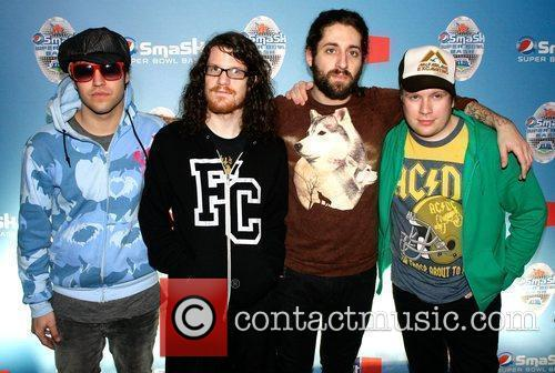 Fall Out Boy at the Pepsi Smash Super...