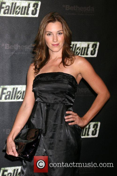 Carly Craig  Launch of Fallout 3 Videogame...